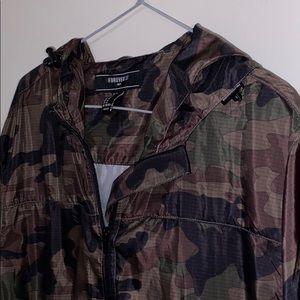 Forever 21 Jackets & Coats - camo windbreaker